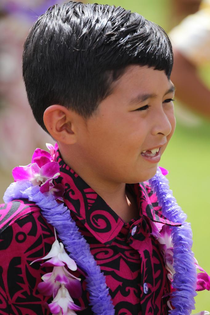 2nd grader boy