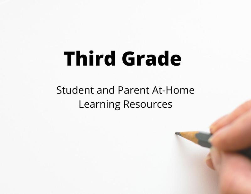 3rd Grade Student and Parent Learning Resources Thumbnail Image