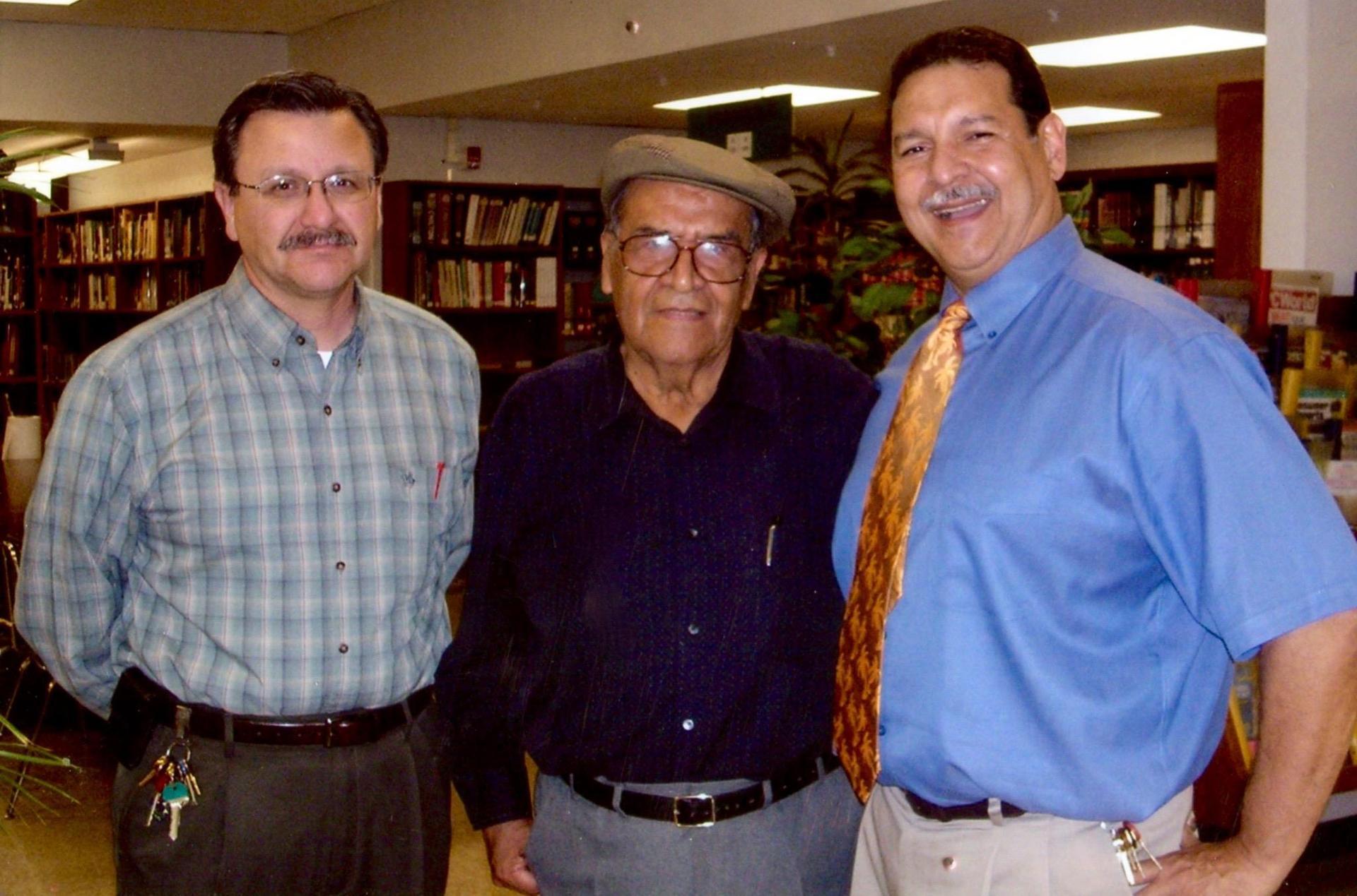 Jaime Escalante at the Library