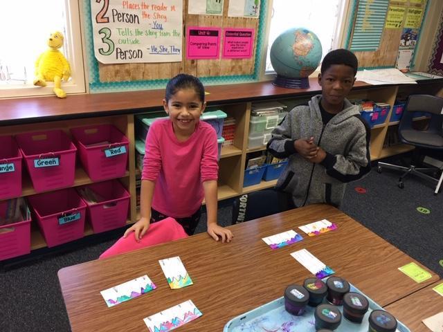 2nd grade artists