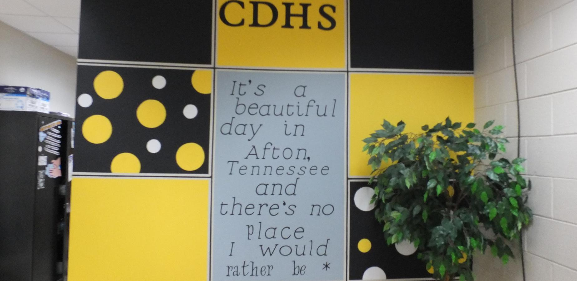 CDHS: It's a beautiful day in Afton, TN, and there's no place I would rather be.