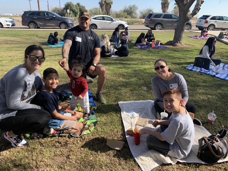Lunch on the Lawn for 3rd and 4th Grade was another great success! Thumbnail Image