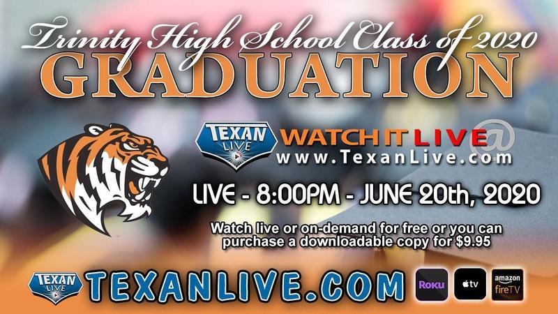 Trinity High School Graduation 2020 Replay! Thumbnail Image