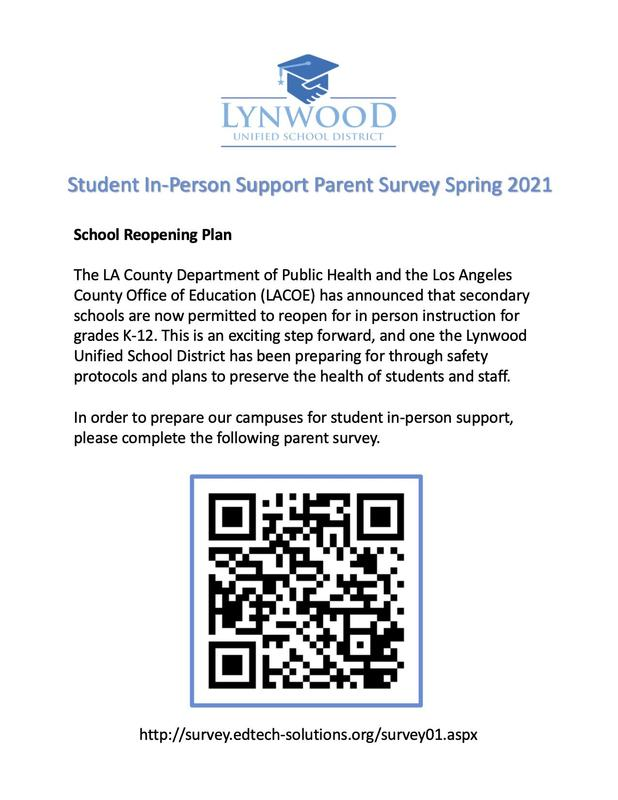 Reopening Survey- Your Voice Matters! Featured Photo