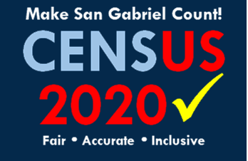 San Gabriel Census 2020 Flyer