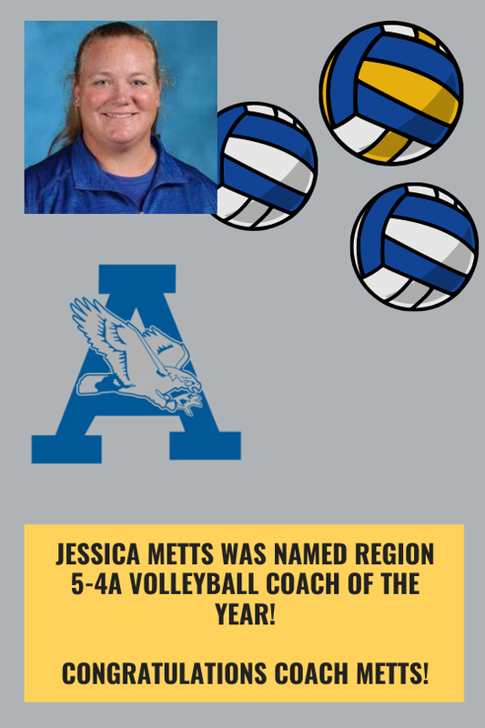 Metts named coach of the year