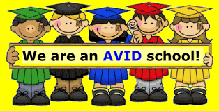 We are an AVID school!