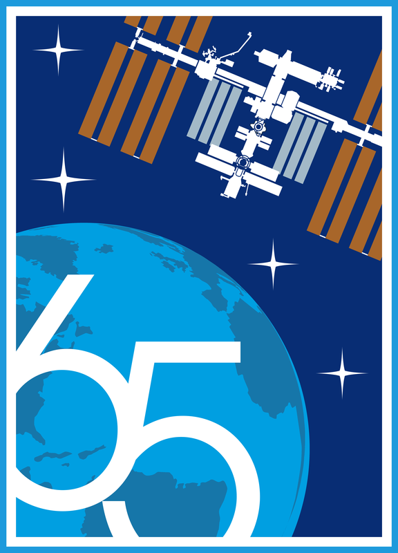 International Space Station Expedition 65 Patch