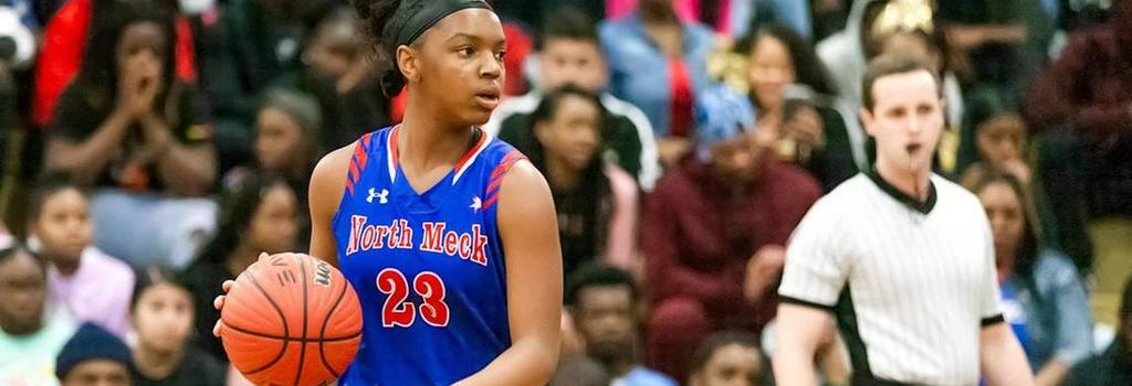 NMHS woman basketball player