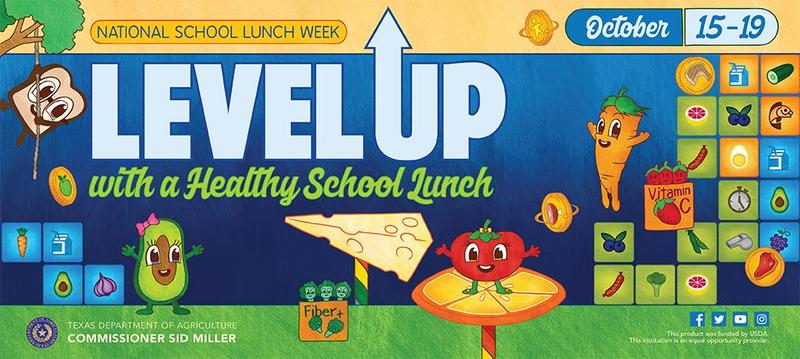 LEVEL UP NATIONAL SCHOOL LUNCH WEEK