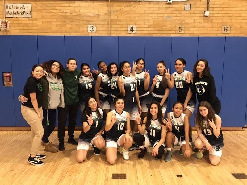 Maspeth High School Girls Varsity Scores 2nd Season Win Featured Photo