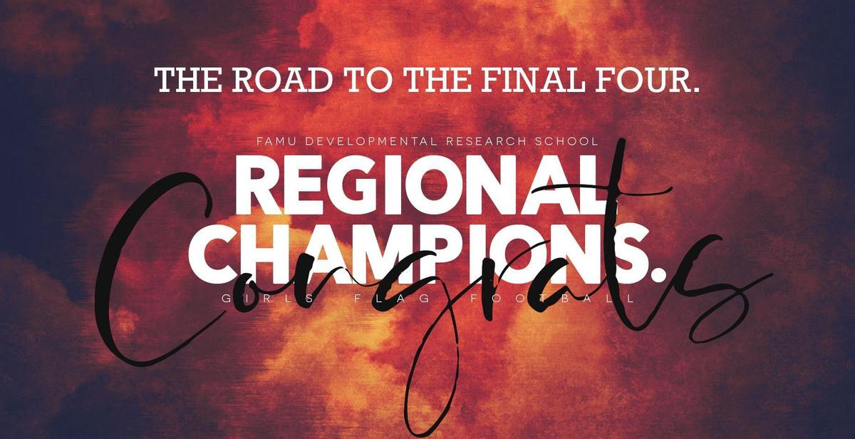 Flag Football Regional Champions Spring 2021