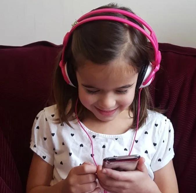 Headphones listening