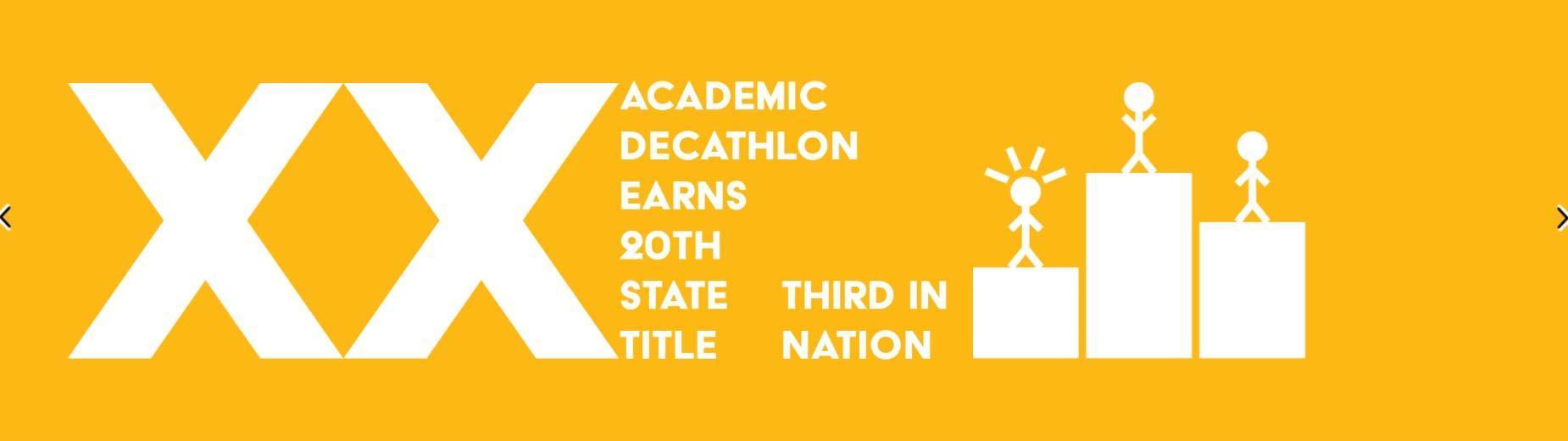 Academic Decathlon news article