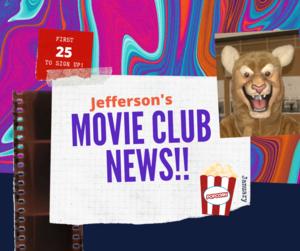 Movie Club clipart