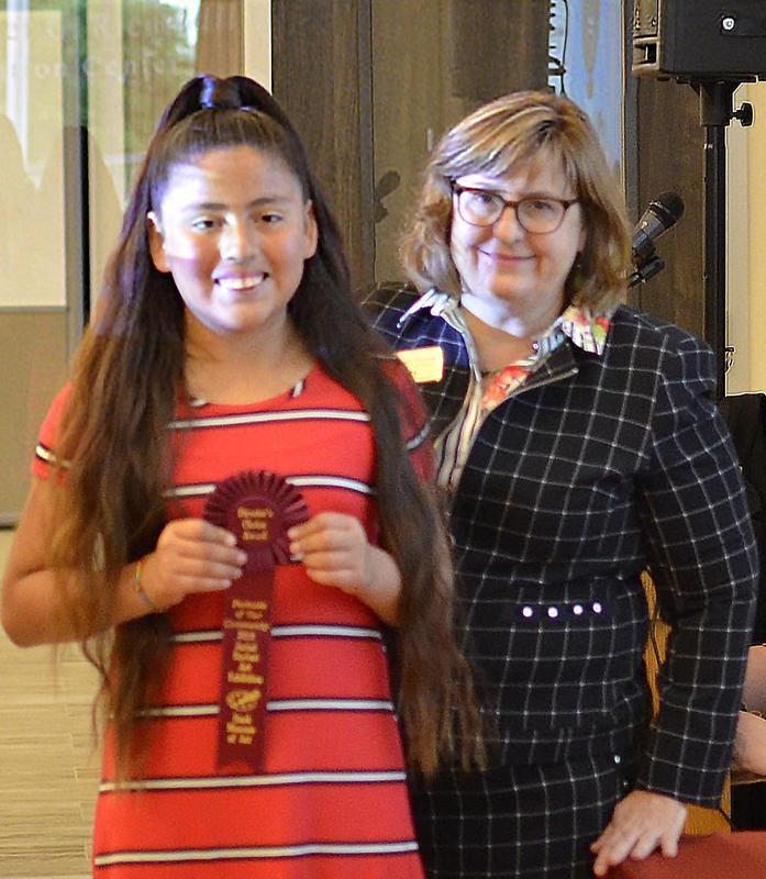 Fifth grader wins Director's Choice Award