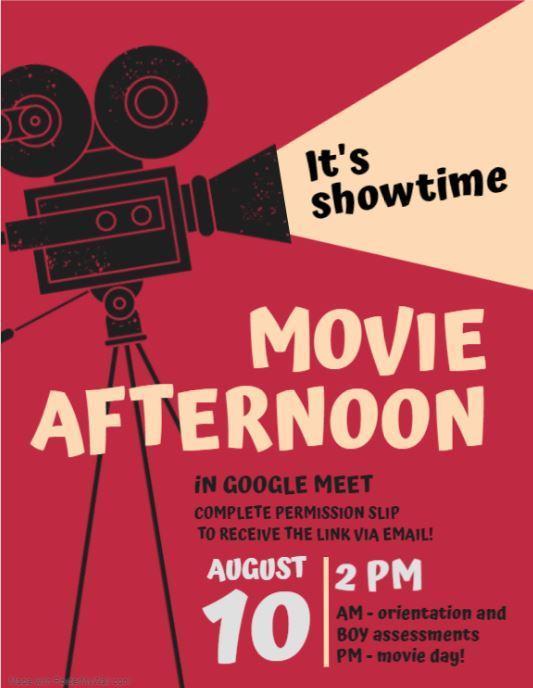 Ad: Movie Day