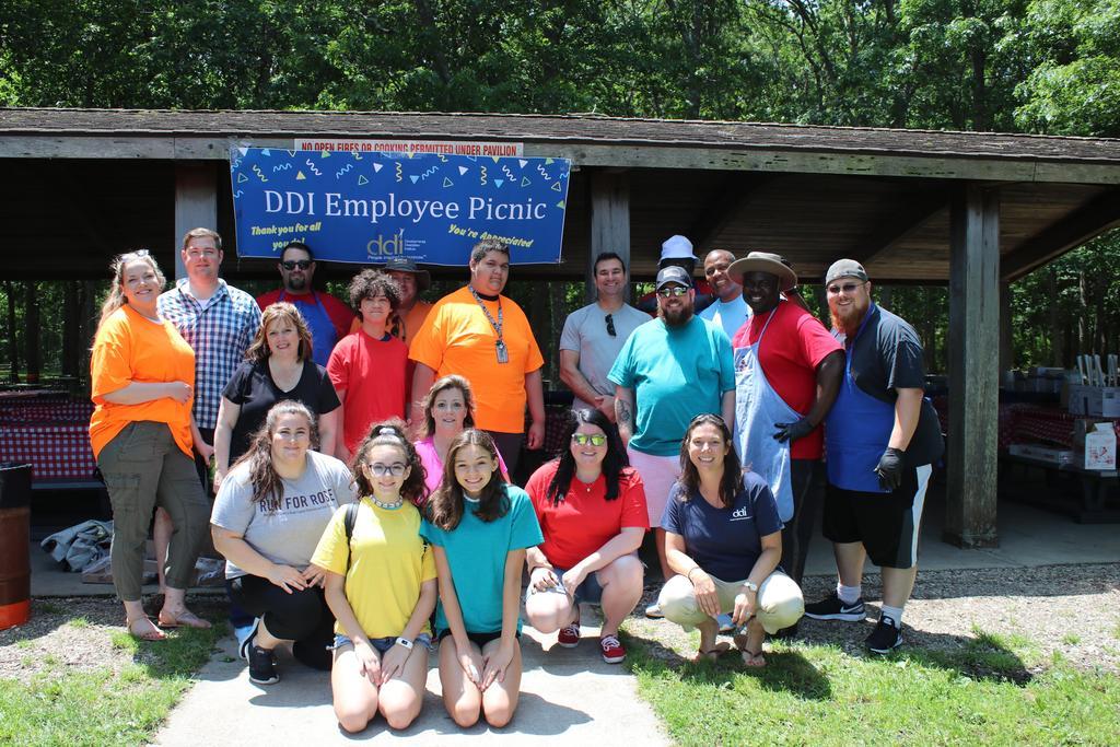 Volunteers at DDI Employee Picnic