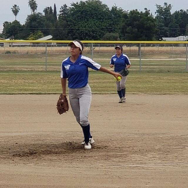 Softball girls play hard to earn a 2nd place finish in the Whitney League