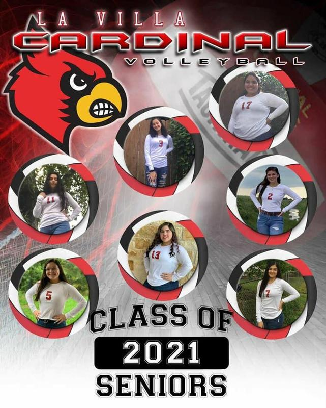 Senior Class of 2021 Volleyball Players Featured Photo