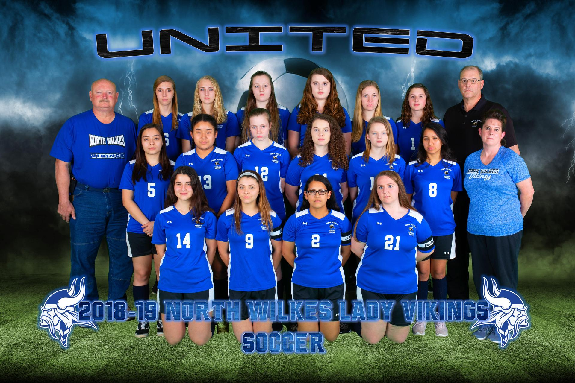 Girls Soccer Picture Spring 2019