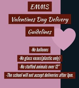 Valentine's Day Delivery Information