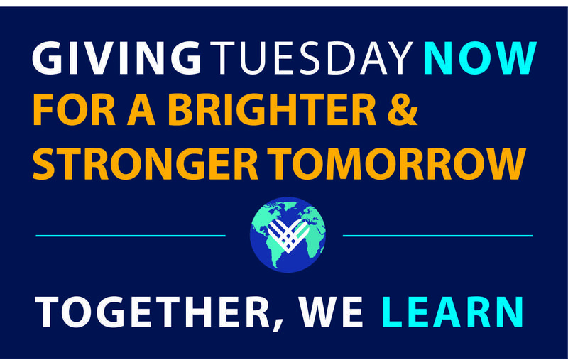 Giving Tuesday Global Distance Learning Leader