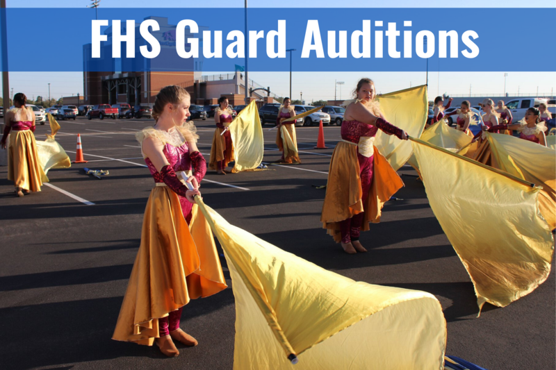 FHS Guard Auditions