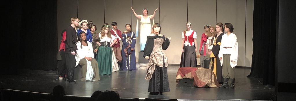school drama production