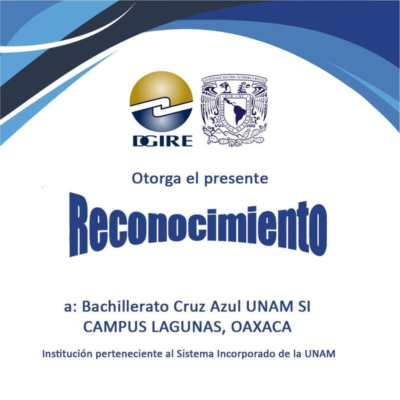 LA DGIRE ENTREGA RECONOCIMIENTO A BACHILLERATO CRUZ AZUL OAXACA Featured Photo
