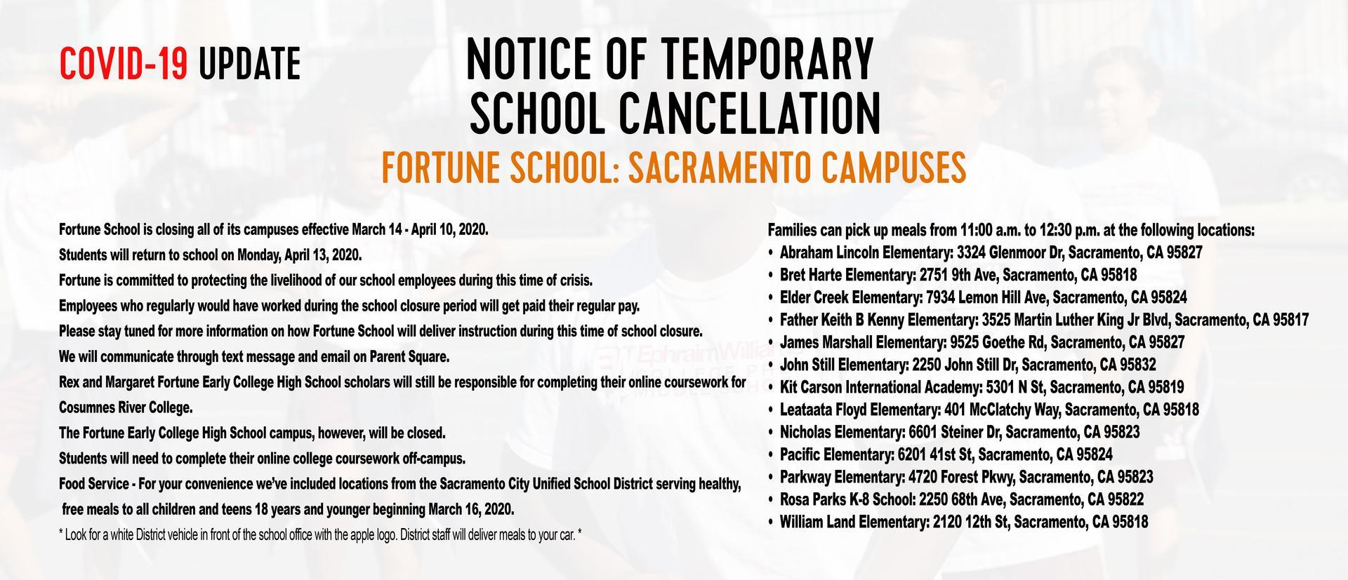 SAC announcement