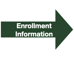 "Green Arrow with White Text that Reads ""Enrollment Information"""