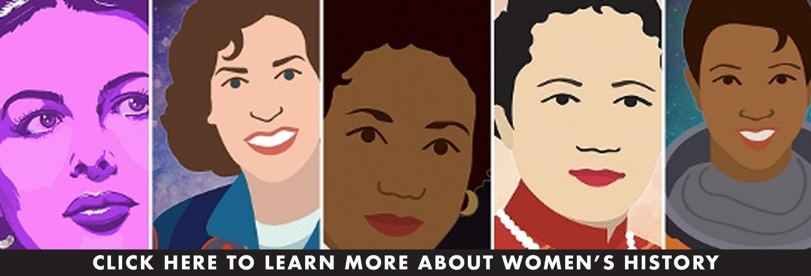 women history month banner