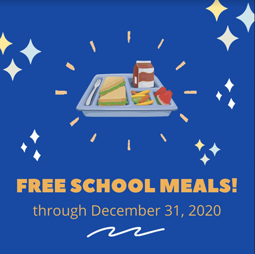 Breakfast and lunch are now free at SHS through Dec 2020 Thumbnail Image