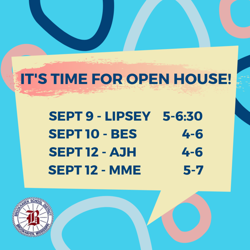 Open House Schedule Thumbnail Image