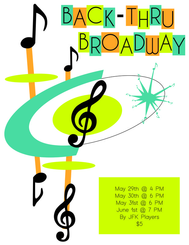 JFK Players Presents Their Spring Musical: Back Thru-Broadway Featured Photo