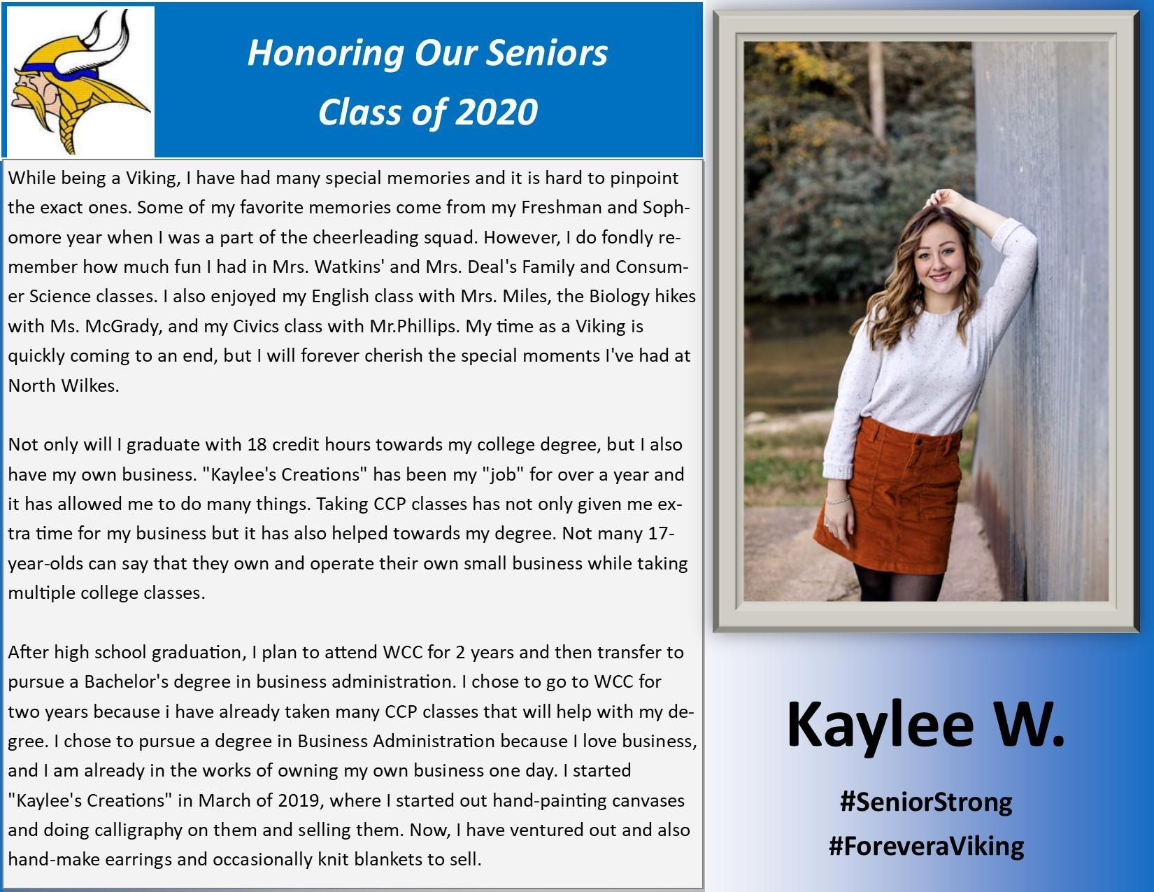 Kaylee W.