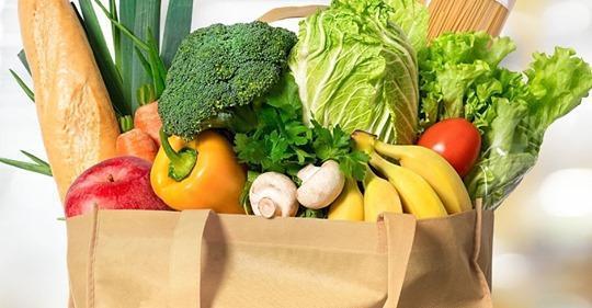 food in a bag