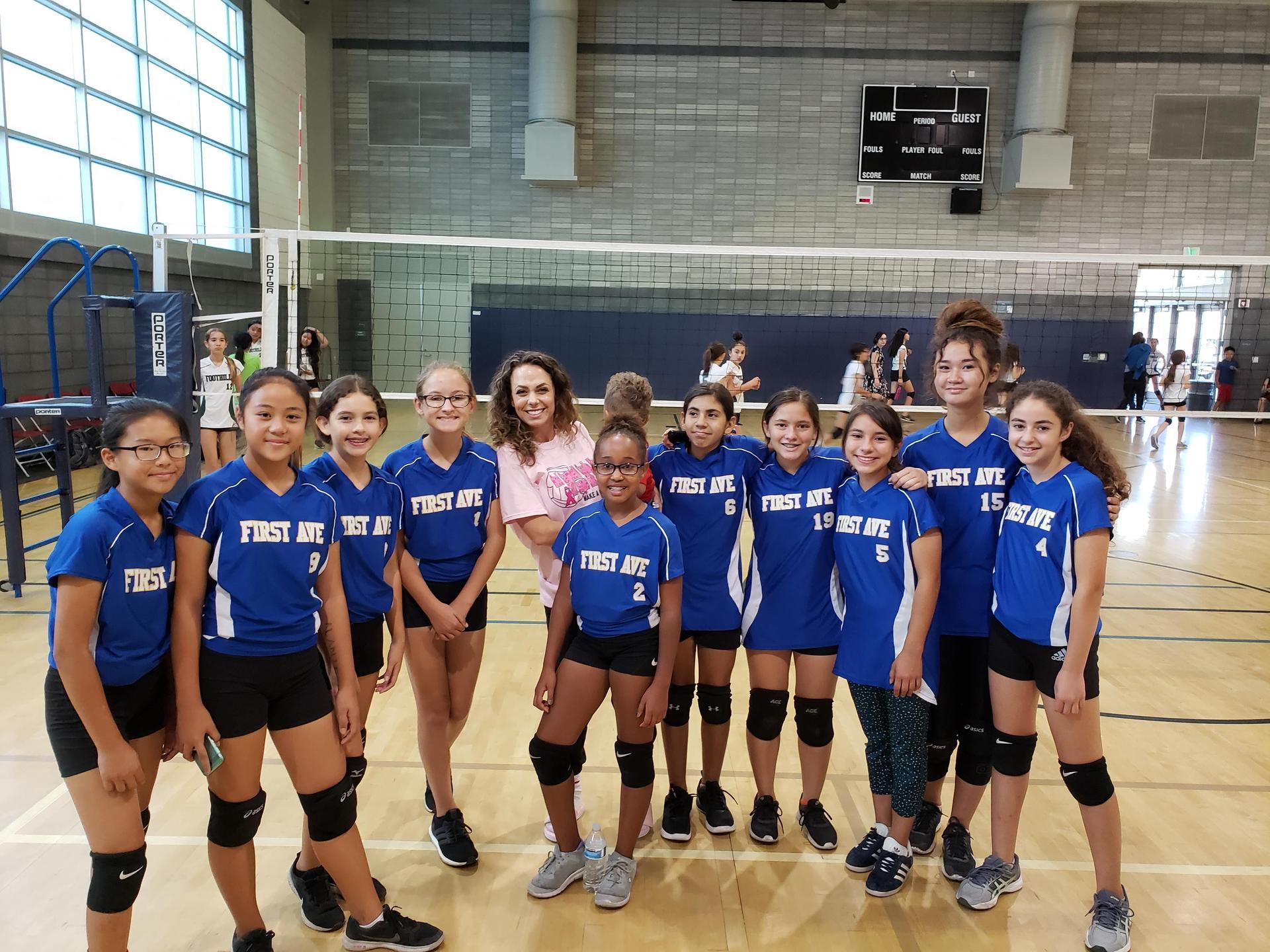 JV Girls Volleyball 18-19