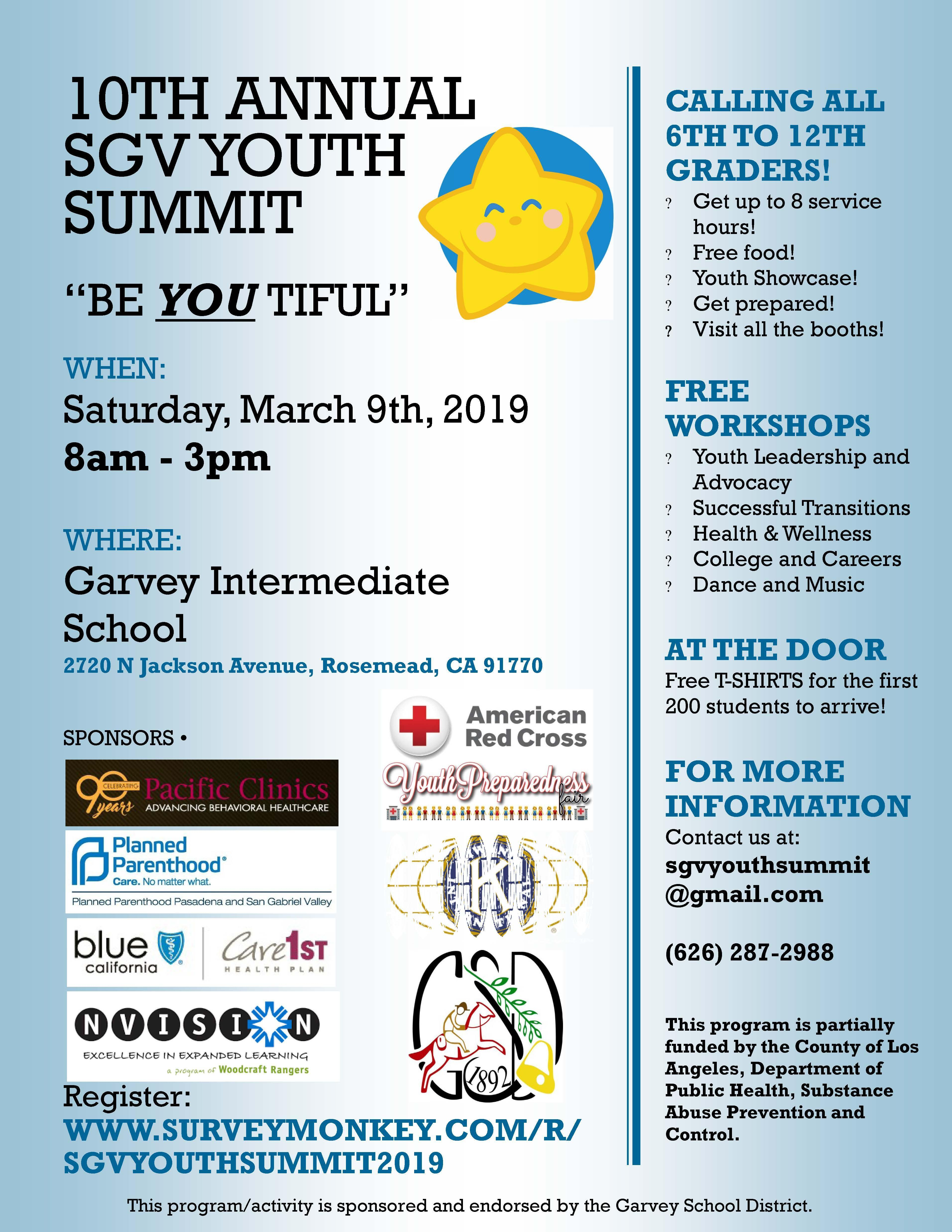 10th Annual SGV Youth Summit