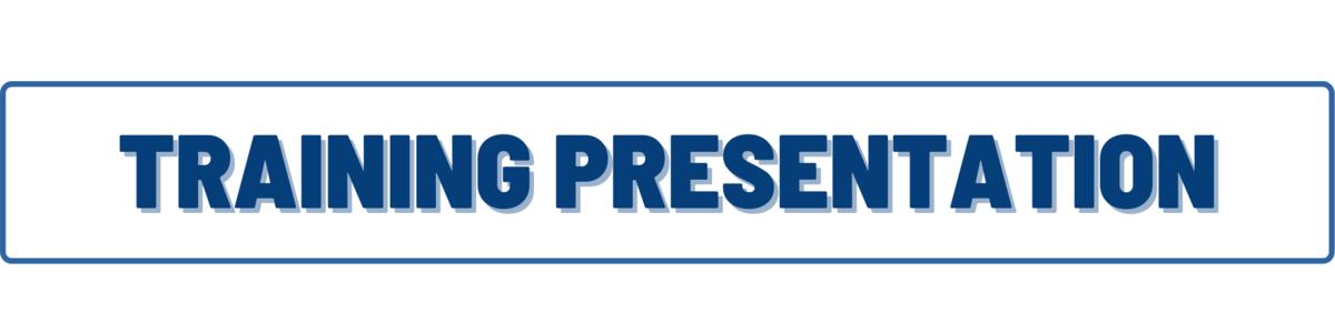 presentation banner