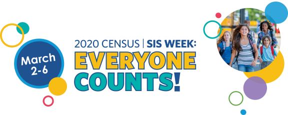 Everyone Counts Census 2020 Week March 2-6th