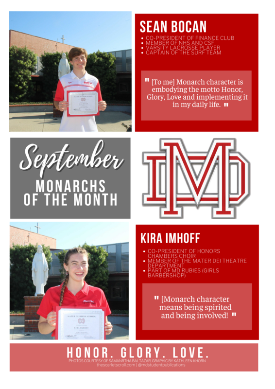 September Monarchs of the Month Featured Photo