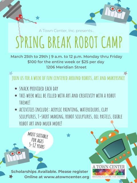 Spring Break Robot Camp