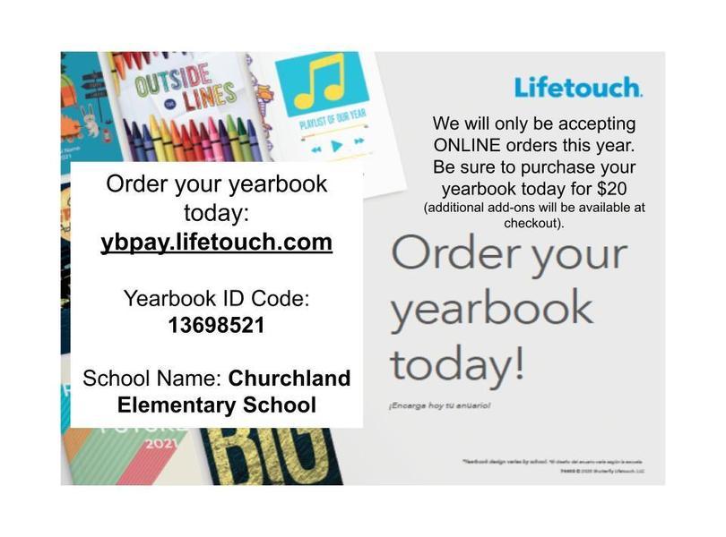 Yearbook ONLINE orders