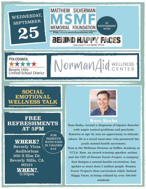 SOCIAL EMOTIONAL WELLNESS TALK - NormanAid