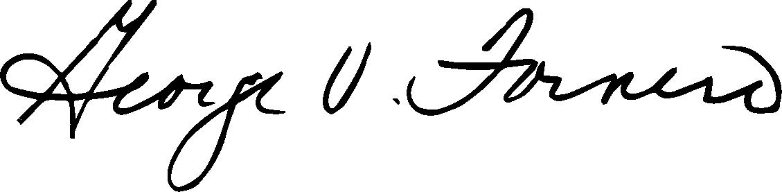George V. Fornero Signage