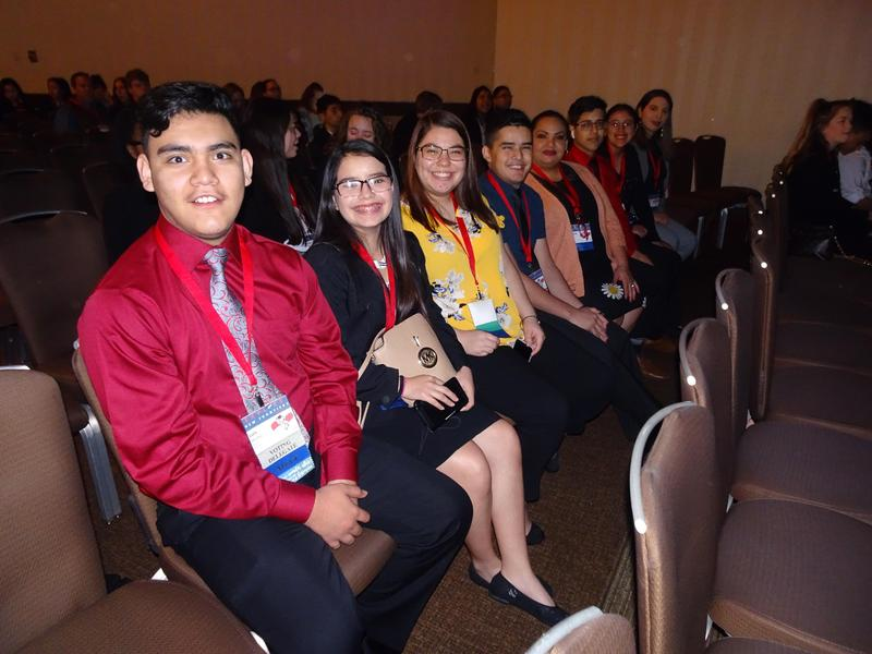 MHS FBLA members recognized at State Leadership Conference in Houston, Texas.