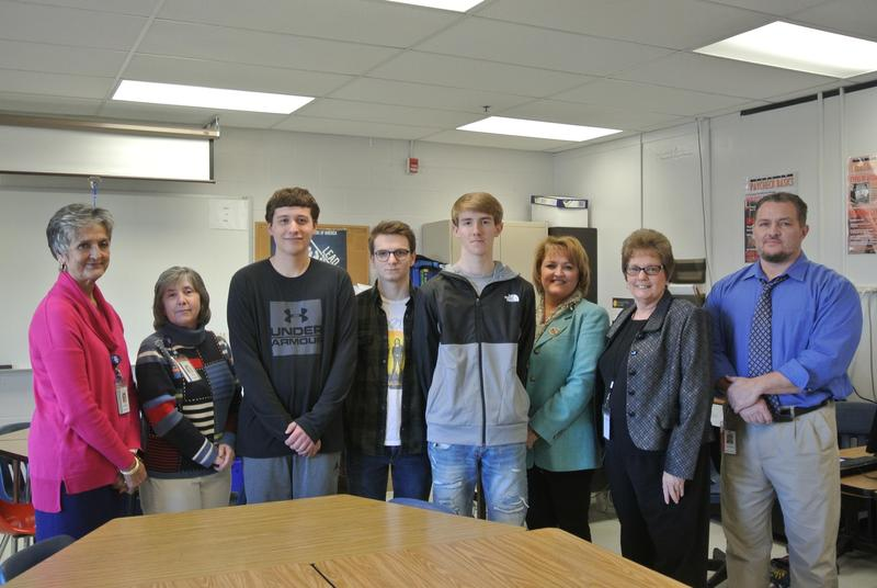 BUHS teacher, Mrs. Christy Dean has been selected for the Financial Literacy High School Pilot Grant