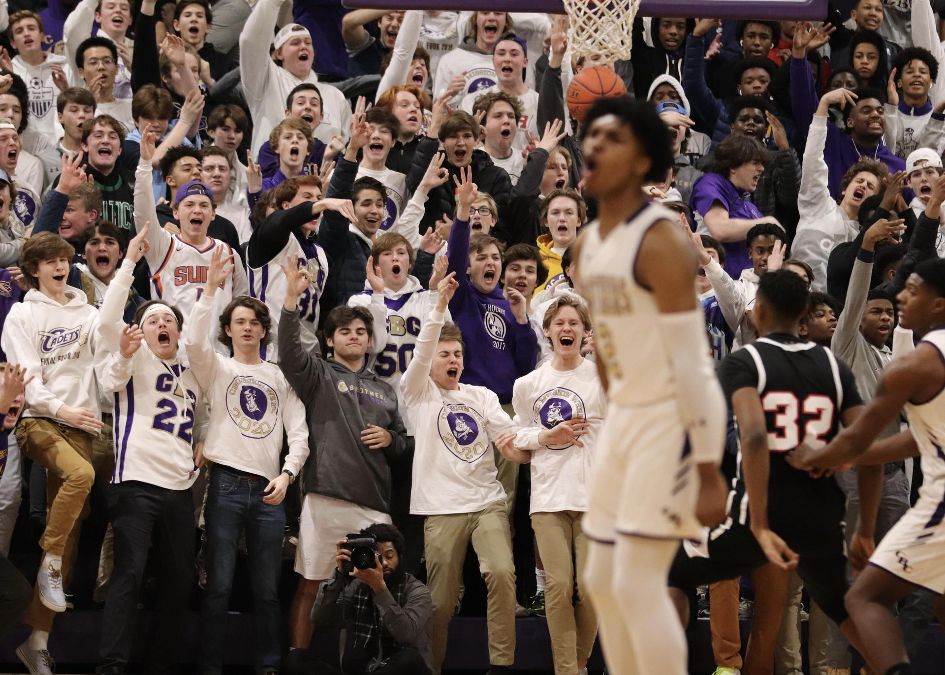 Basketball fans